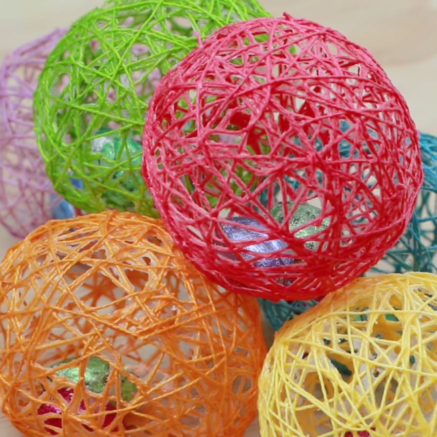 String art easter eggs nifty holidays parties
