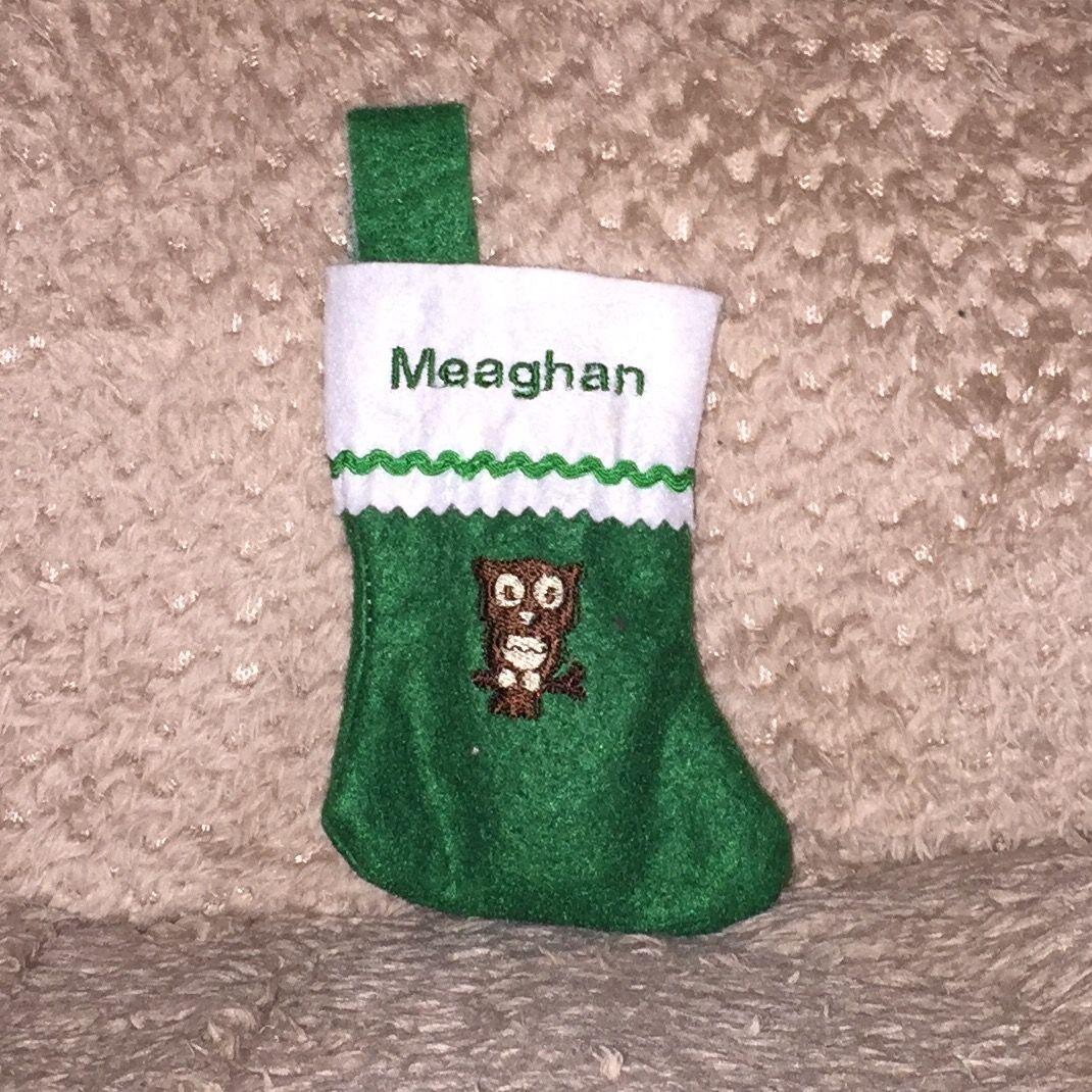 Mini stocking 2015 Mini stockings, Christmas stockings