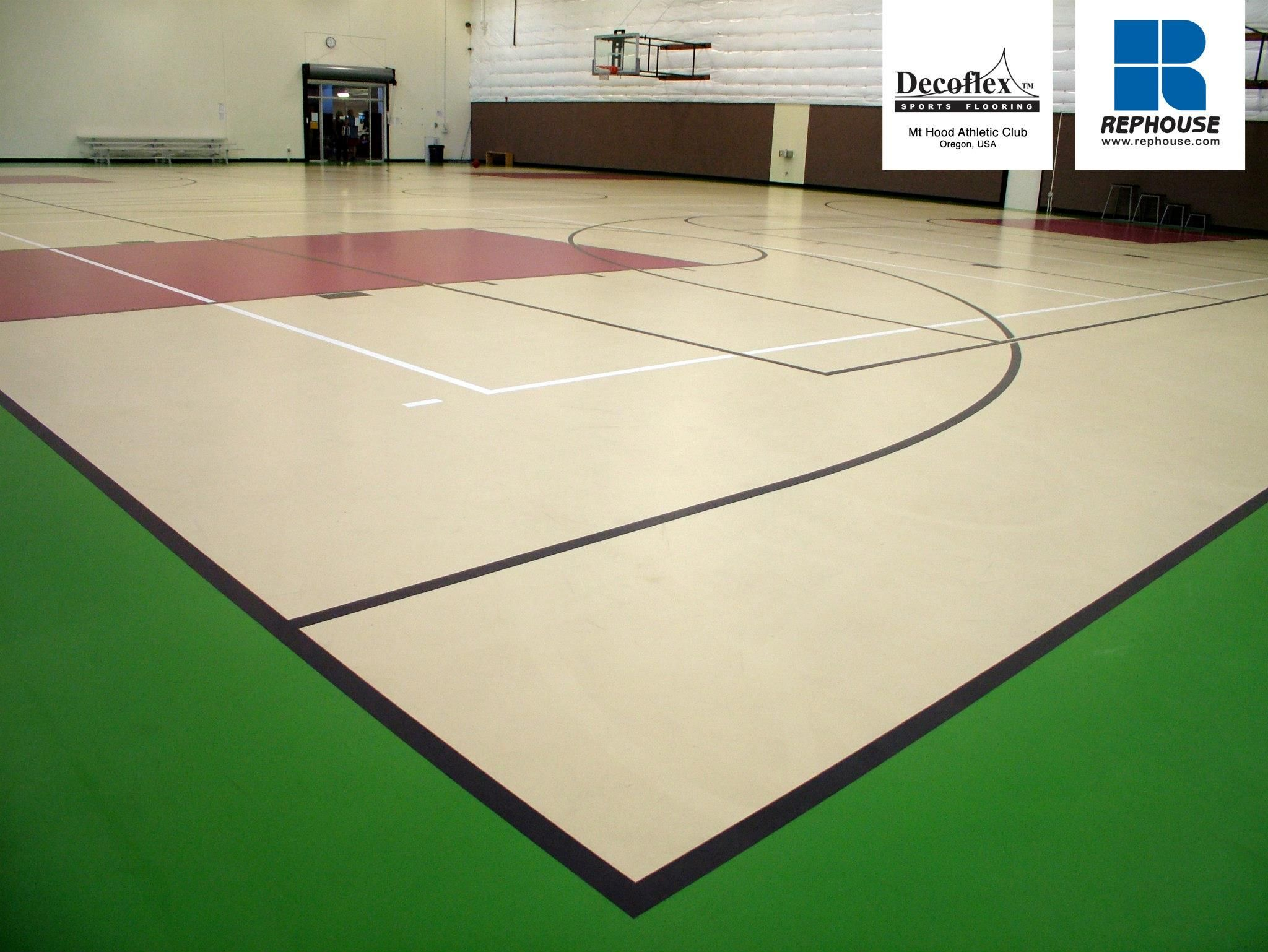 Decoflex Universal Seamless Polyurethane Indoor Sports Flooring Mt Hood Athletic Club Oregon Usa Indoor Sports Indoor Sports