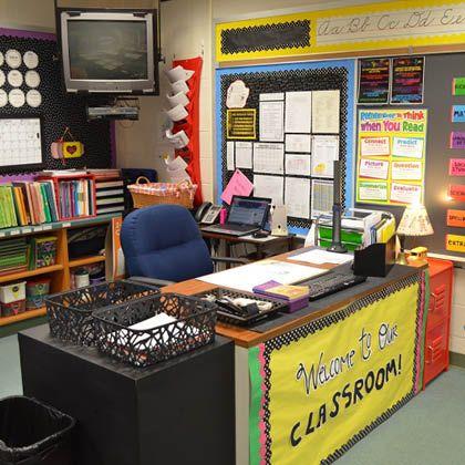 Teacher Life Schoolyard Blog Teacher Desk Areas Teacher Desk Teacher Desk Organization