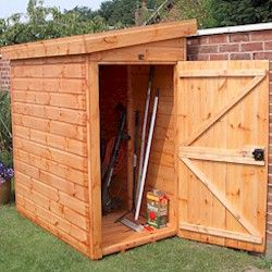 Narrow Storage Shed | Two Level Craftsman Storage Shed Framing Plans W Ho  Says A Yard