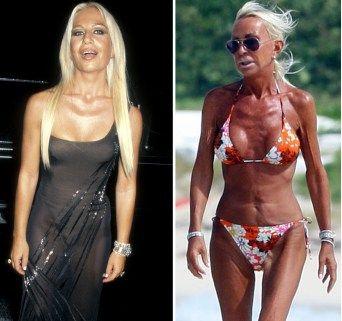 boobs Donatella versace