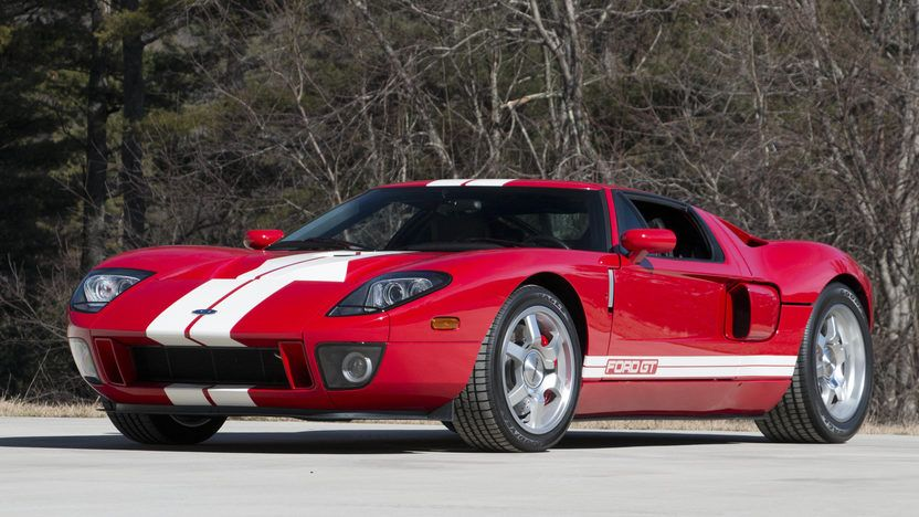 2005 Ford Gt 5 4 550 Hp 2 185 Miles Mecum Auctions In 2020