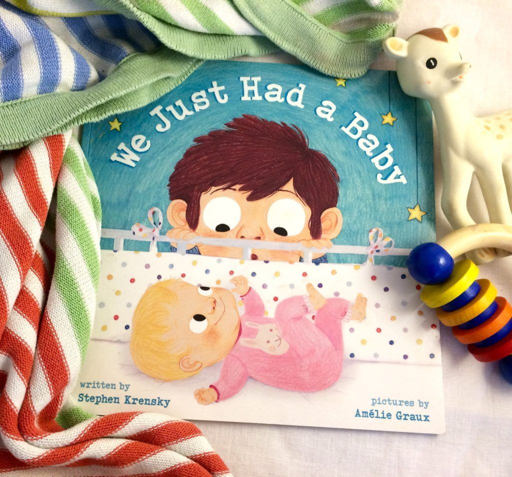 Title: We Just Had a Baby Author: Stephen Krensky Illustrator: Amélie Graux Age Group: 2-5 Synopsis: Having a new baby can bring all sorts of changes to the family but becoming a big brother can also be pretty amazing. The Low Down: I know twelve people right now that just had a baby or are …
