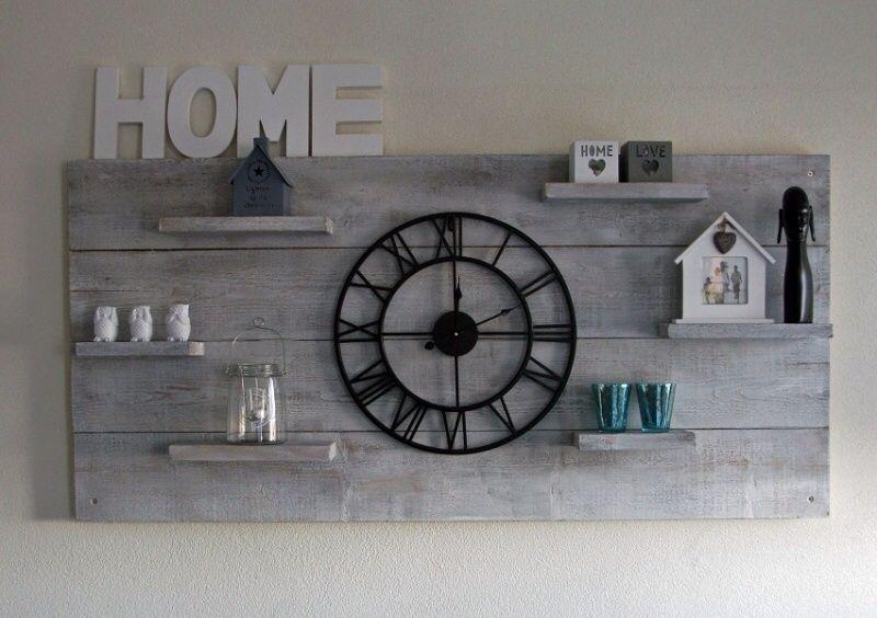 Vinyl Steigerhout Look : Deco wanddecoratie steigerhout house house