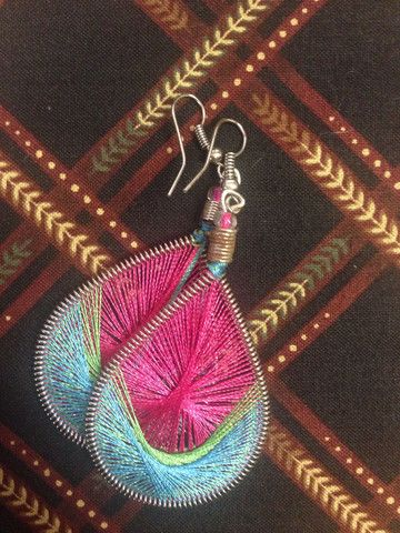 Weave Earrings (various colours available) http://www.one1earth.com/#_a_marymadalene