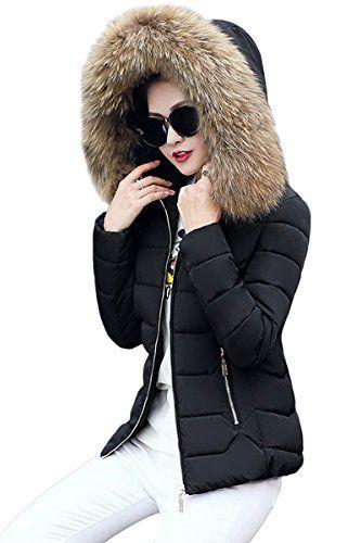 Manteau chaud a capuche