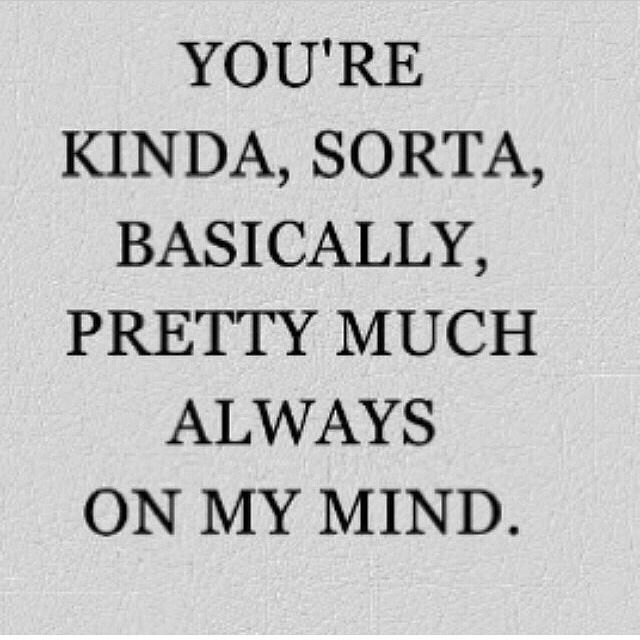 Your Always On My Mind 247 Quotes Love Quotes Relationship