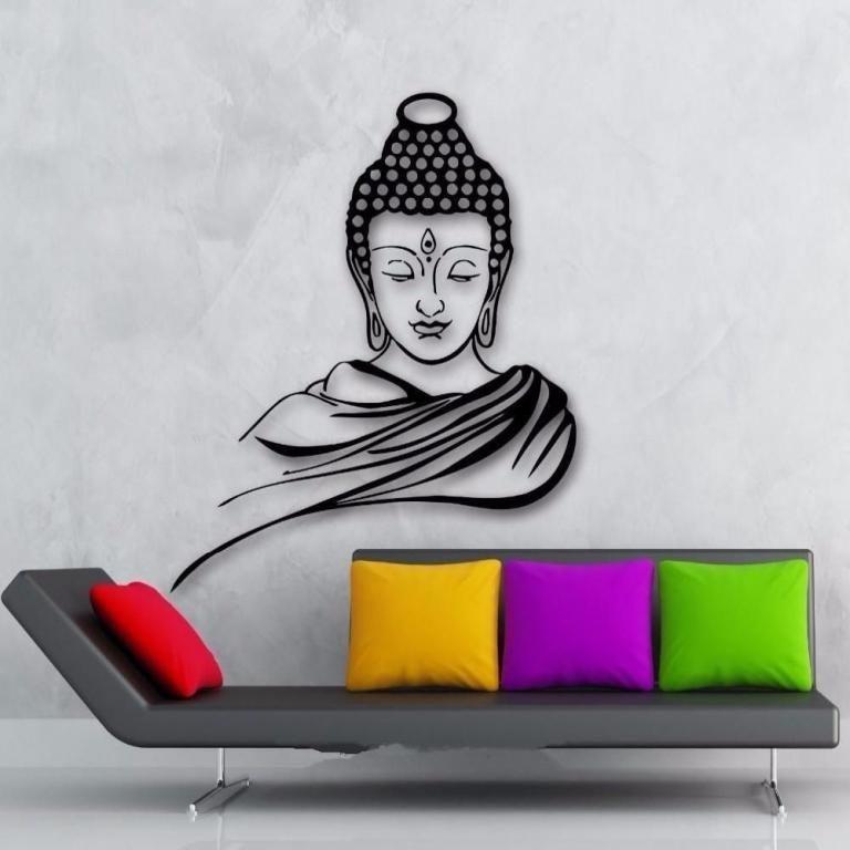 35 Top 3d Wall Paint Design Ideas Buddha Wall Painting Buddha Wall Art Buddha Wall Decor