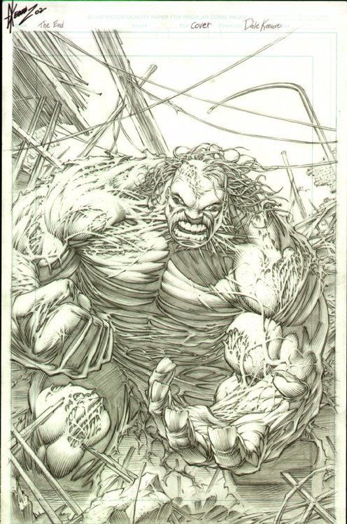 Hulk: The End cover by Dale Keown