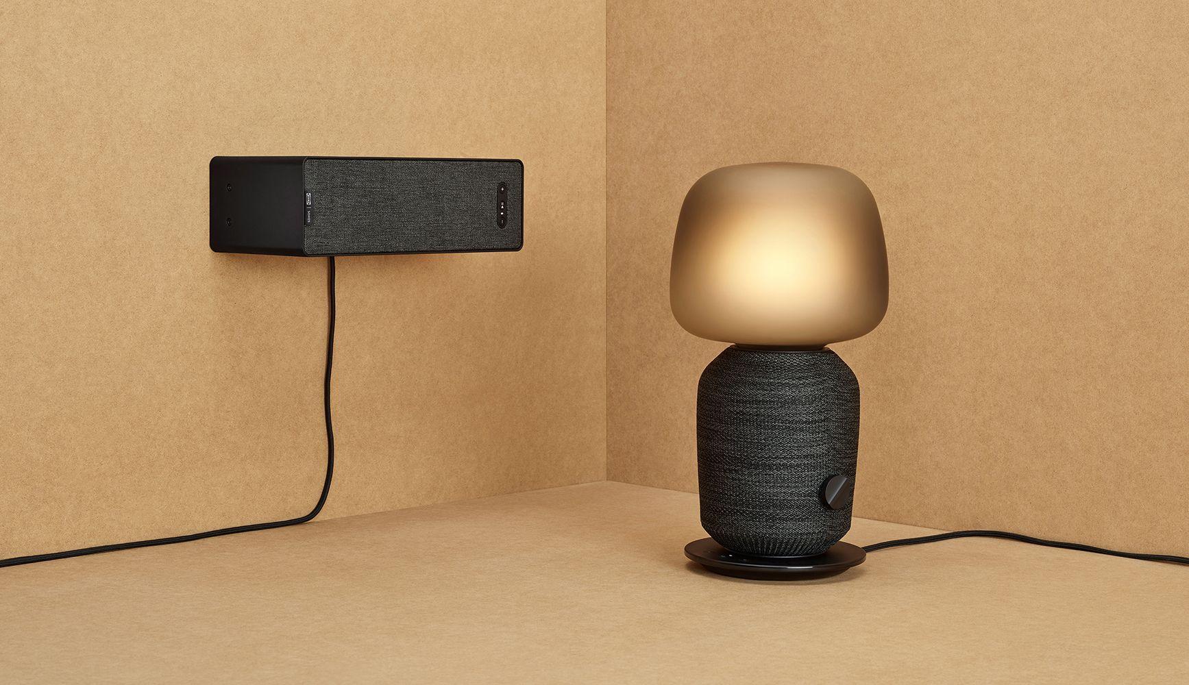 Lampe De Table Et Etagere Haut Parleurs Par Ikea X Sonos Ikea Maison Et Objet Lampes De Table