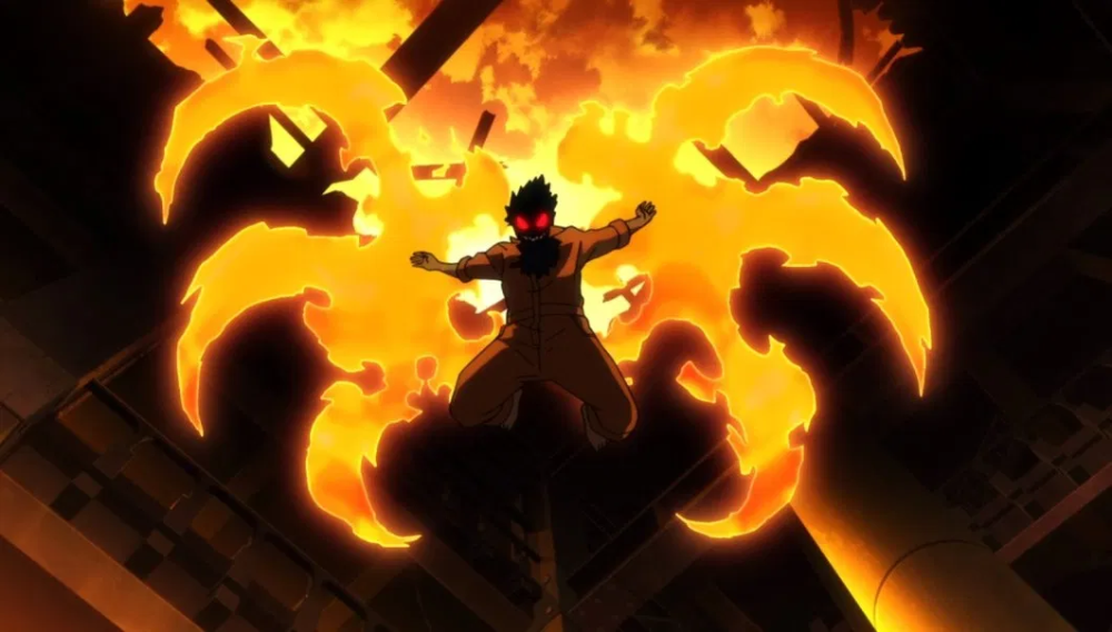 Fire Force Episode 8 Beware Of The Smiling Ones Gallery I Drink And Watch Anime Shinra Kusakabe Anime Wallpaper Cool Anime Pictures
