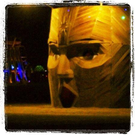 Sculpture. Burning Man. Nevada USA