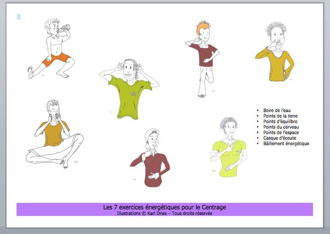 Préférence Le Centrage - Le Petit Brain Gym illustré   Brain Gym&Kinesiologia  JL83