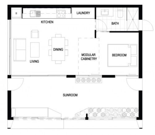 Archiblox : la maison préfabriquée à énergie passive