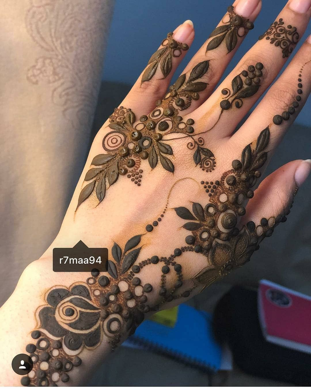 Love This Gulf Henna Style By R7maa94 Henna Mehndi