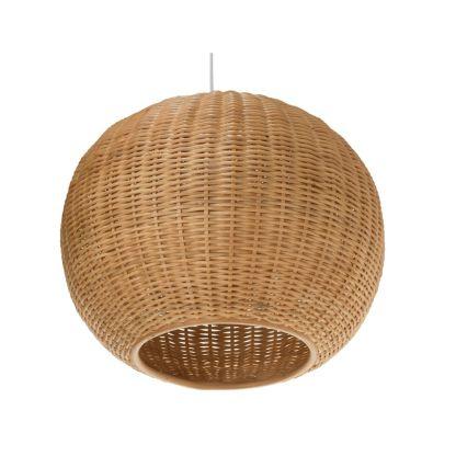 Rattan Lamp, $125