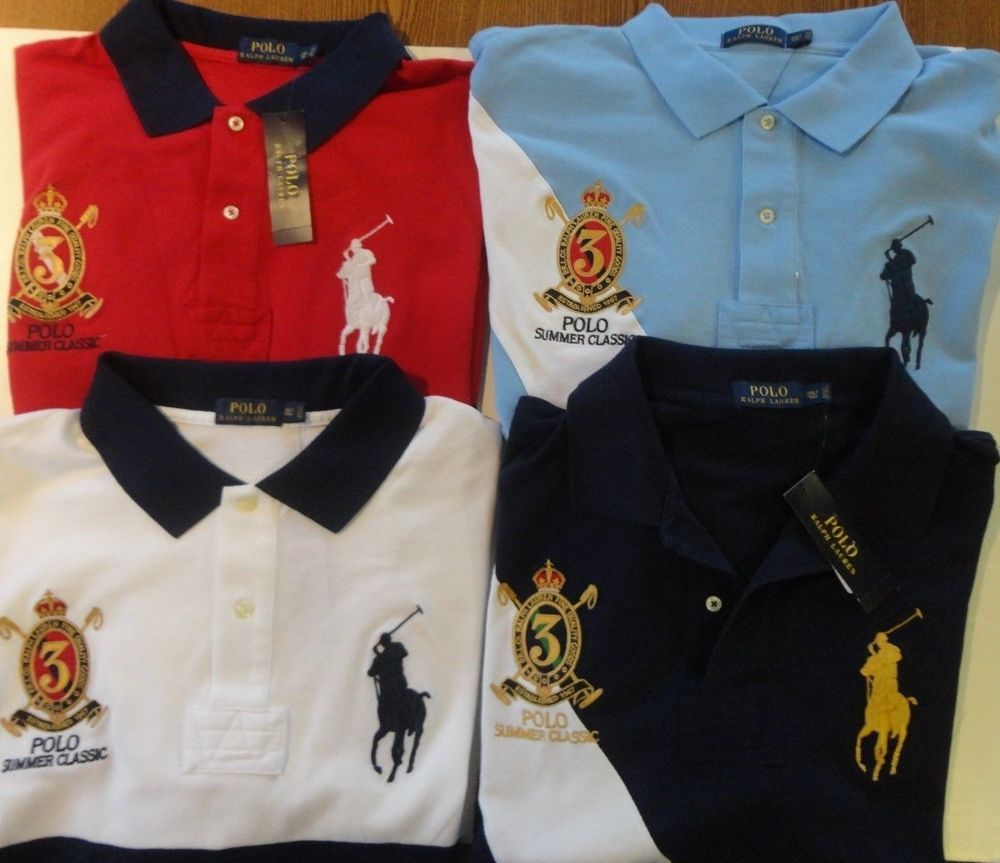 NWT POLO Ralph Lauren Summer Classic  3 Mesh SS Polo Shirt BIG   TALL  eef3dcc3a21