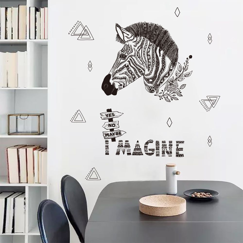 Dktie Removable Vinyl Stickers Peel And Stick Wall Decals For Living ...