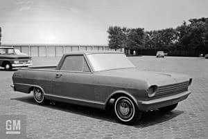 Chevy Nova El Camino Ute Concept Clay Concept Cars Car Model