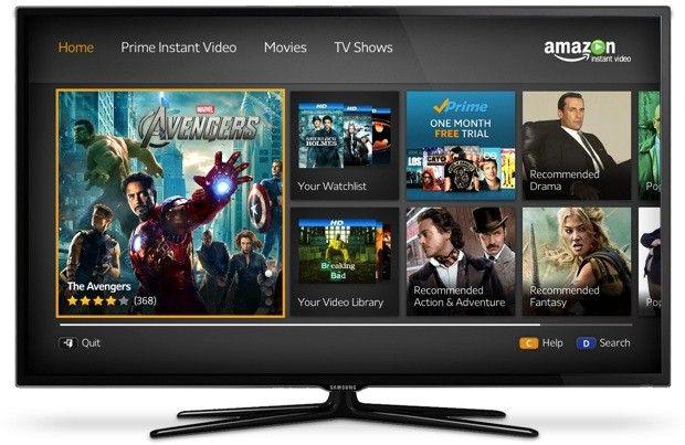 Samsung 2012 Smart TVs get Amazon Instant Video streaming