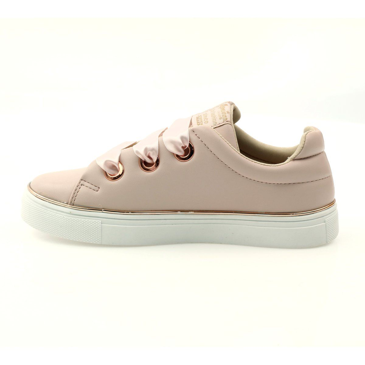American Club Satin Sneakers American Lace 17508 Pink Trainers Women Kid Shoes Summer Shoes