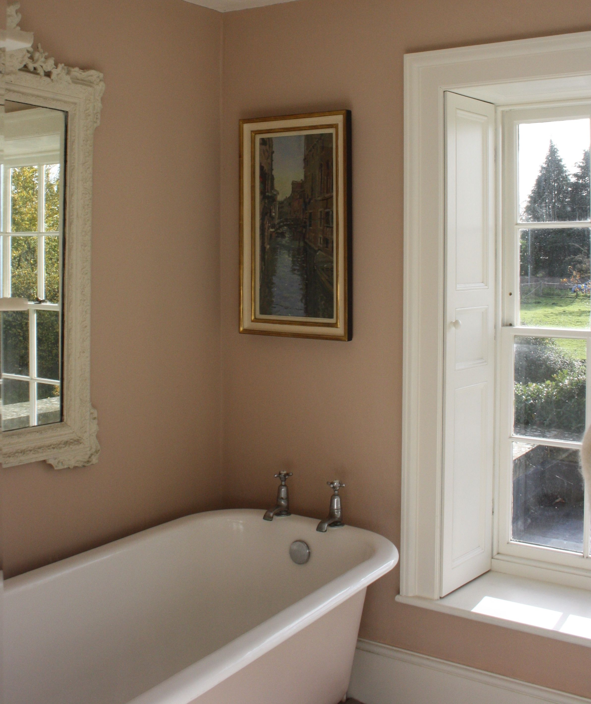 Badezimmer Set Paris Farrow And Ball Setting Plaster Roll Top Bath Country