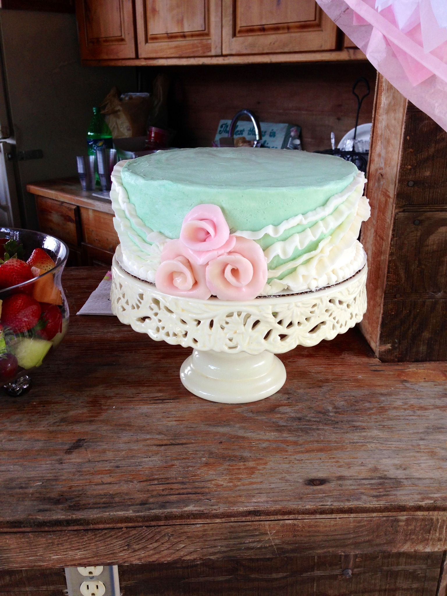 Baby Shower Vintage Cake Baby Shower Pinterest