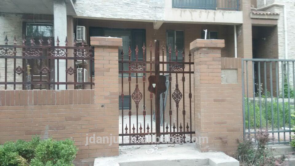 House iron gate design / steel sliding gate / Aluminum fence gate ...