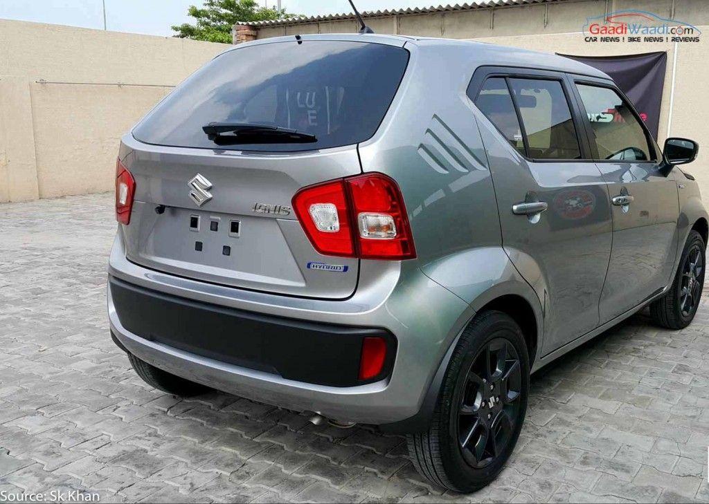 Maruti Ignis Spied In India Suzuki Car Mini Crossover