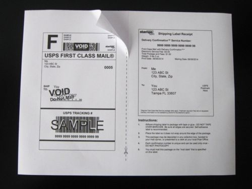 7000 Shipping Labels 8 5 X 5 5 Ebay Ups Usps Fedex Only 03