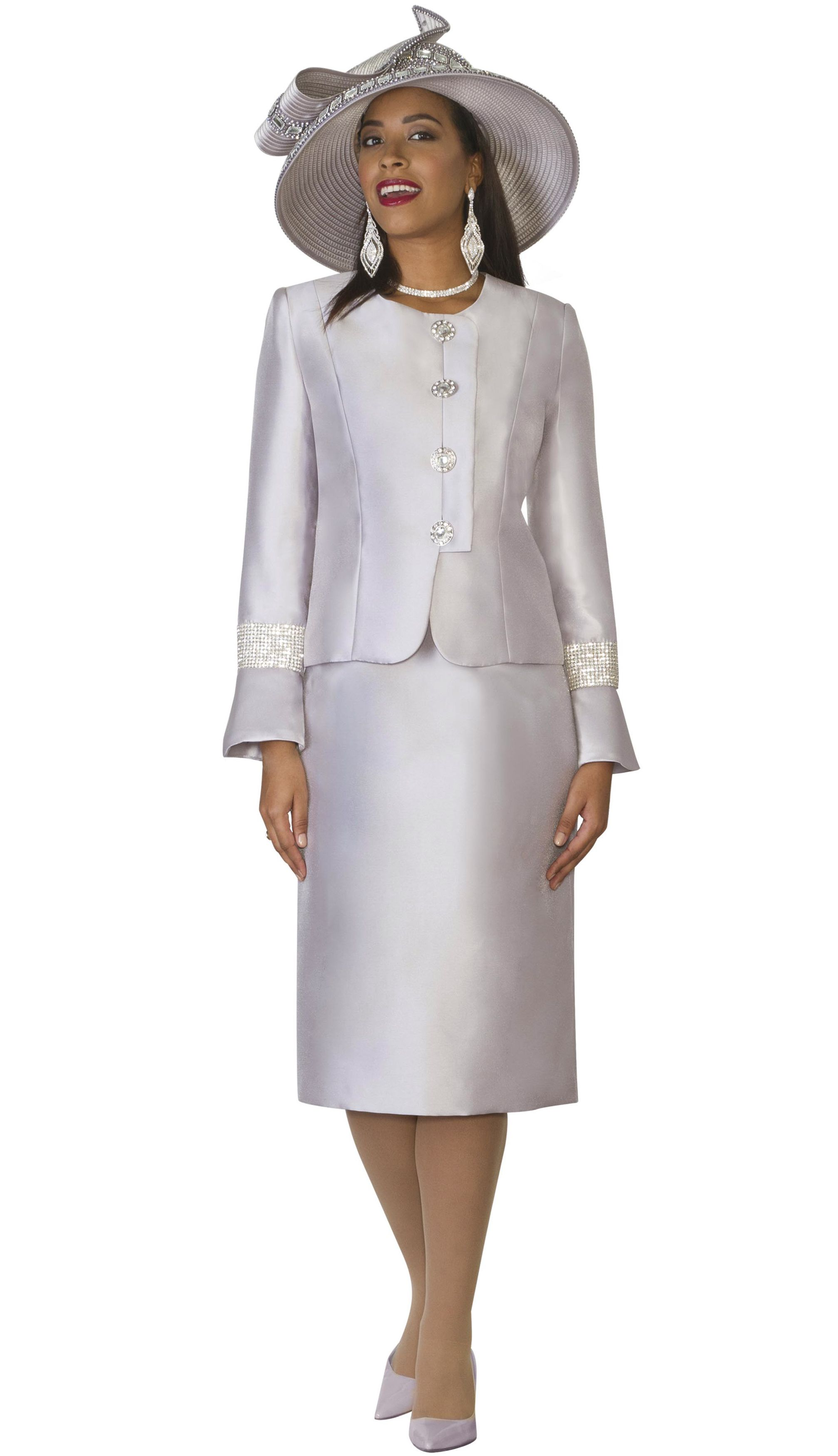 Style Lily And Taylor 4047 2 Piece Silky Twill Womens Skirt Suit With Rhinestones Colors Silver Sizes Mother Of The Bride Dresses Dresses Lace Front Dress [ 3500 x 2013 Pixel ]