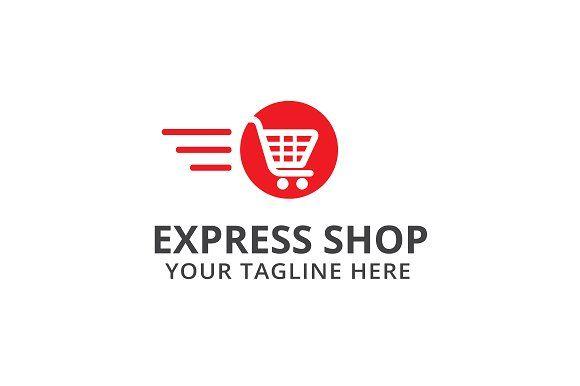 Express Shop Logo Template Logo Templates Shop Logo Express Logo