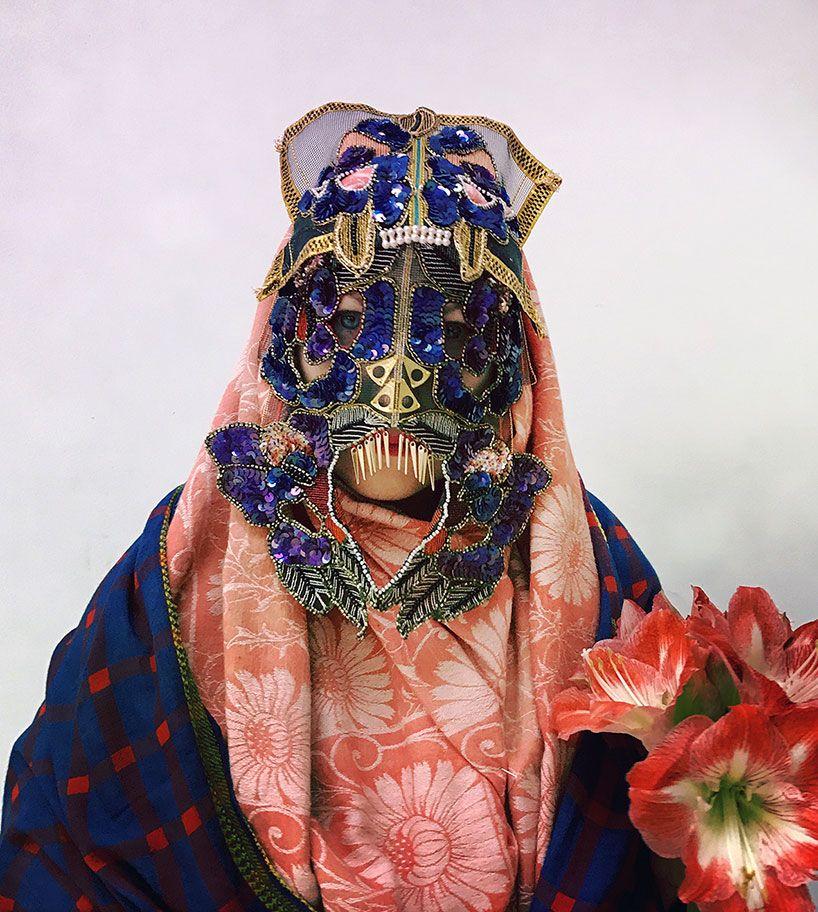 damselfrau: a peek behind the many masks of the london-based artist #wearableart