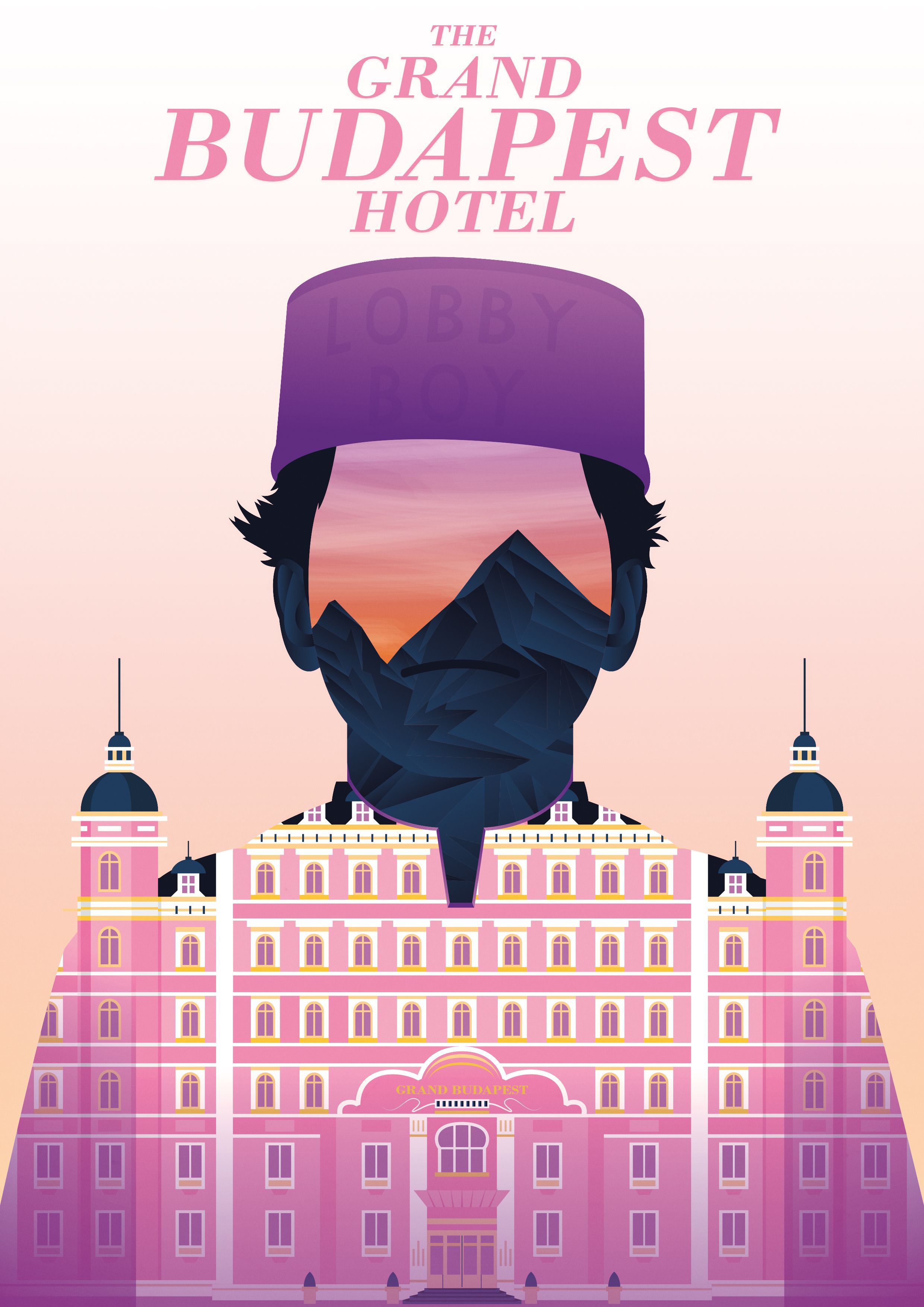 The Grand Budapest Hotel Movie Poster Print T264 A4 A3 A2 A1 A0|