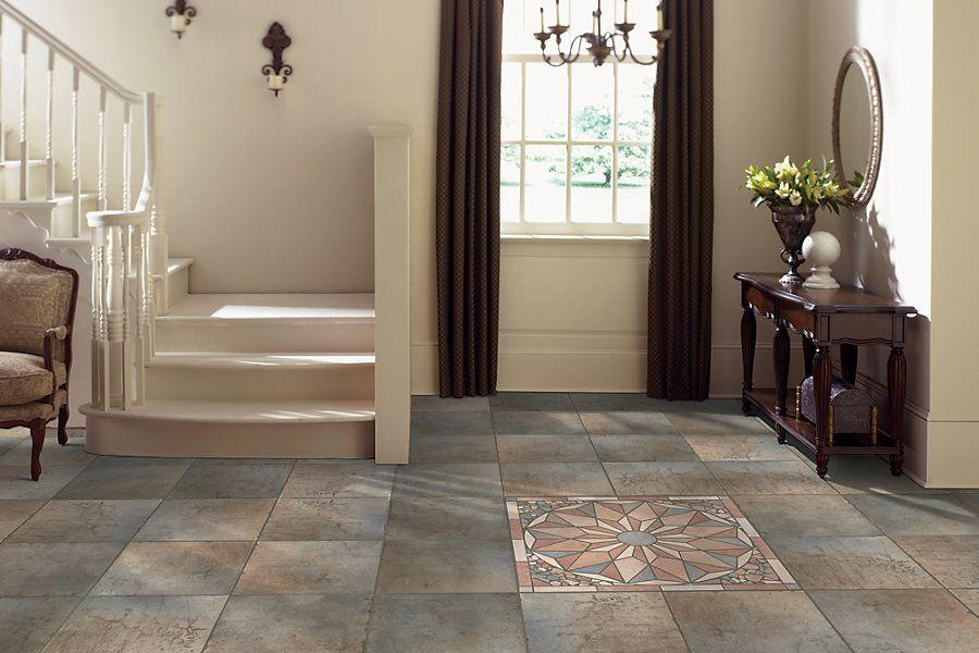 mohawk quarry stone tile in amber
