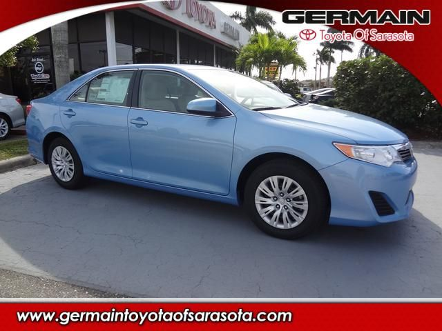 2014 Toyota Camry L In Clearwater Blue At Germain Toyota Of Sarasota. # Toyota #LetsGoPlaces