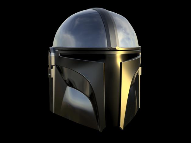 The Mandalorian Helmet By Damaskprops Thingiverse Mandalorian Helmet Mandalorian Helmet
