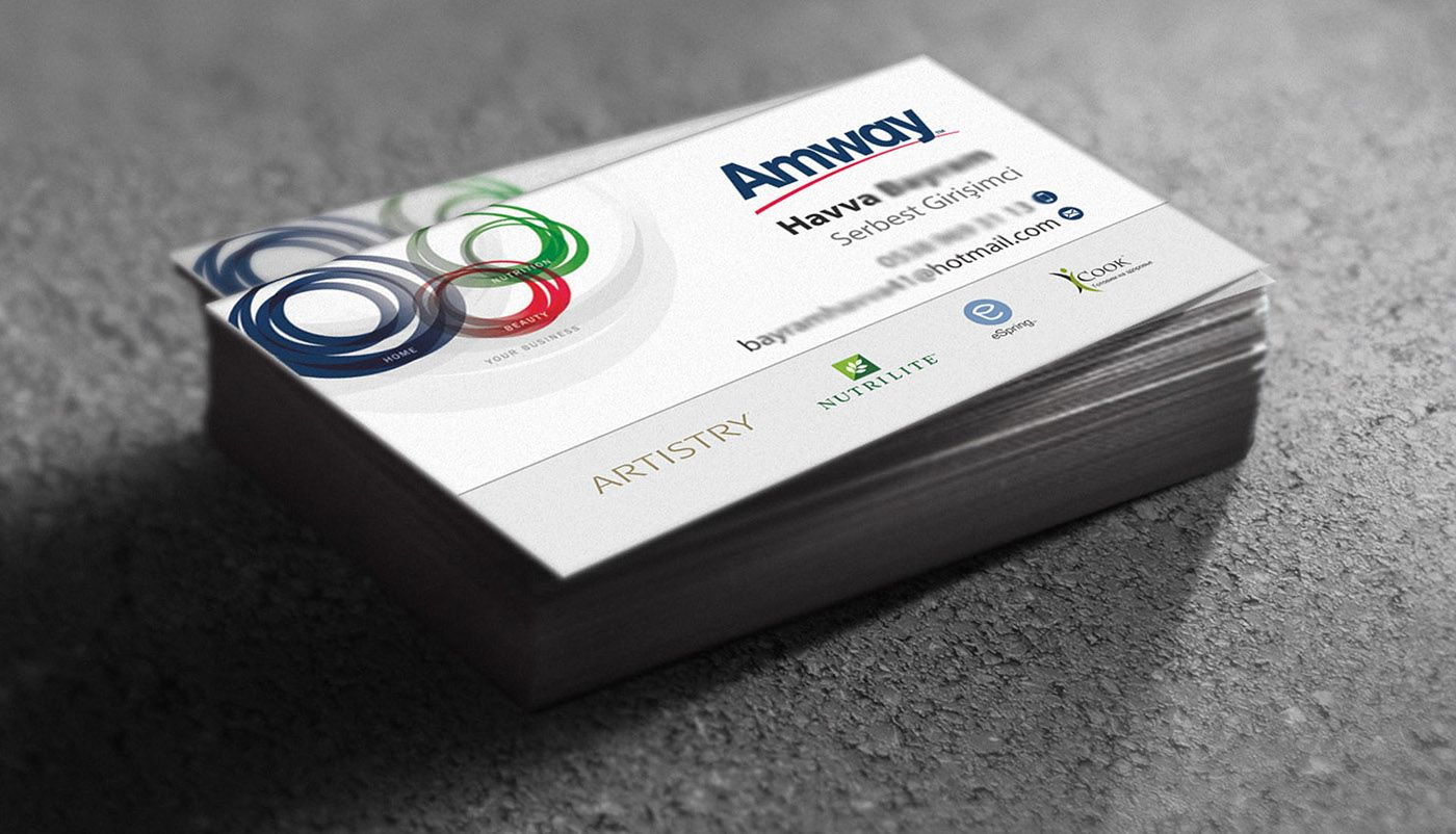 Business Card For Personal Use Amway Business Amway Business Cards