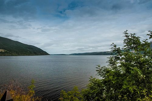 Lochness from Urquhart Castle