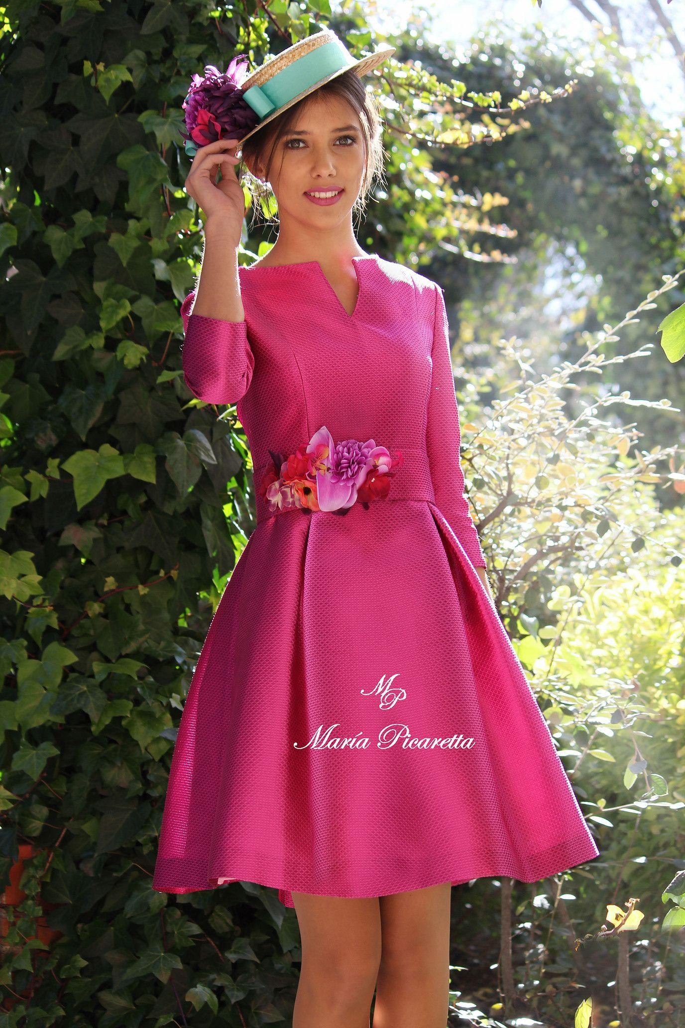 Vestidos de Fiesta de María Picaretta | What to wear | Pinterest ...
