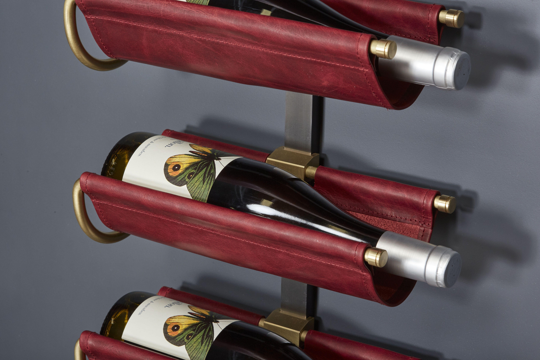 Wine Saddle Display Unit Amuneal Magnetic Shielding Custom Fabrication Winestorage Wine Bottle Display Wine Wall Display Bottle Display