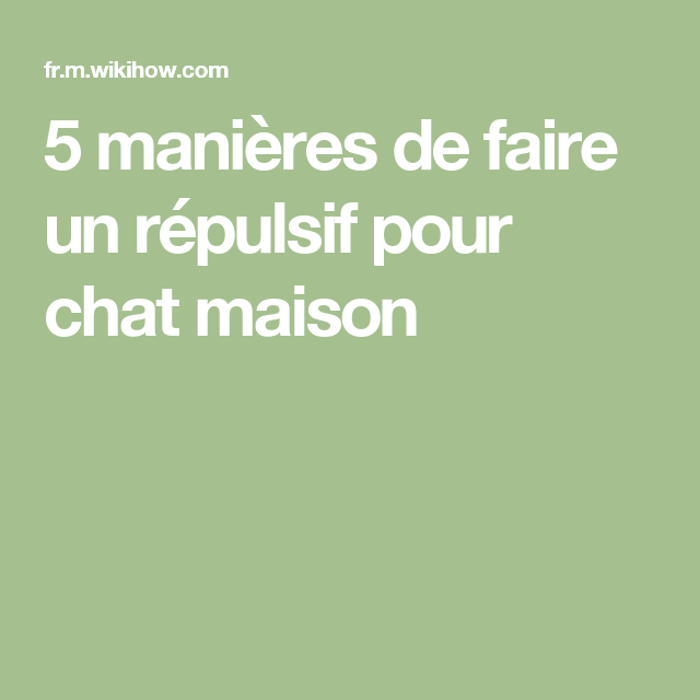 Faire un r pulsif pour chat maison les chatvaliers de la table ronde pinterest bricolage - Repulsif chat jardin naturel ...