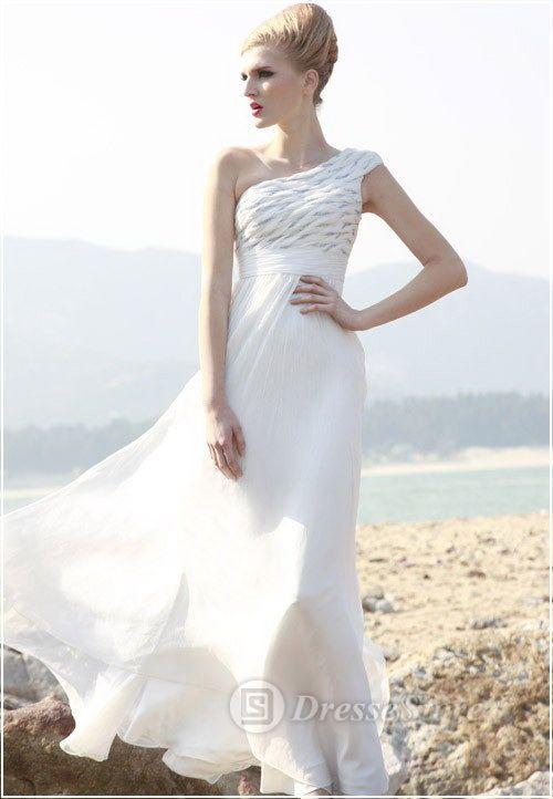 One Shoulder Chiffon A-line Floor-length Dress, http://www.dressestore.com.au/one-shoulder-chiffon-aline-floorlength-dressaustwd51650-p-4665.html