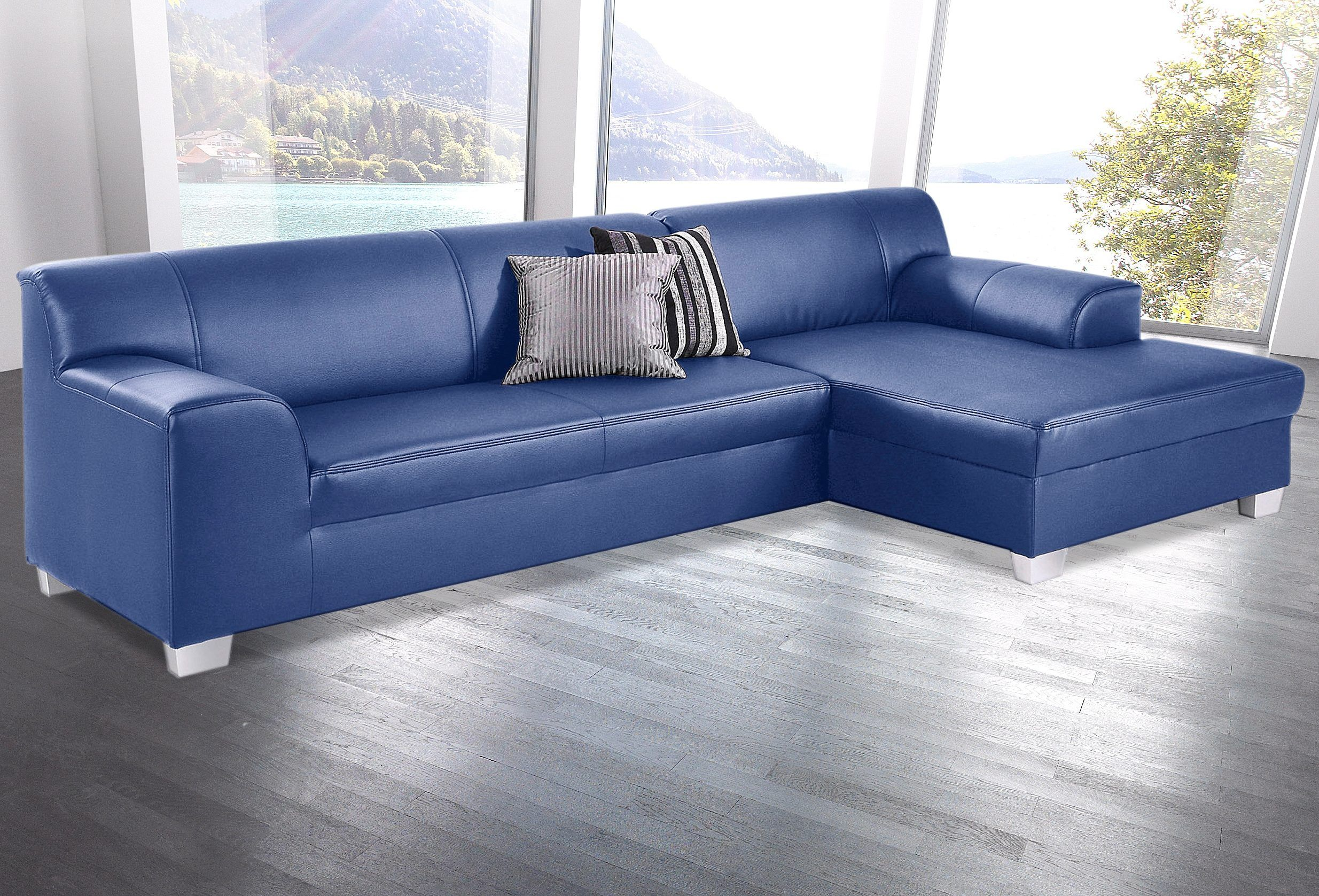 Recamiere Klein. Ecksofa Sofa Couch Recamiere Grau In Rostock With ...