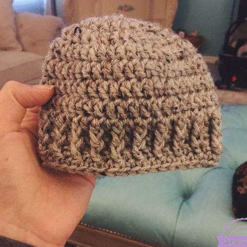 The Parker Crochet Newborn Hat Free Pattern Crochet For Children