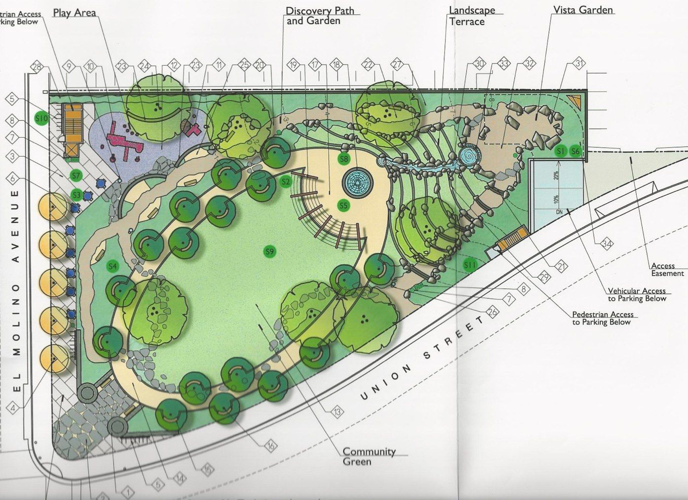 New Parks And The Misuse Of Residential Impact Fees Landscape Design Drawings Parking Design Landscape Architecture Design