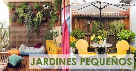 ideas para tu pequeo jardn uc jardin pequeo patio terraza