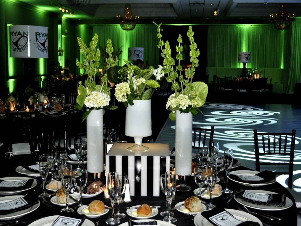Image Result For Black Gold And Green Party Decor Gold Table