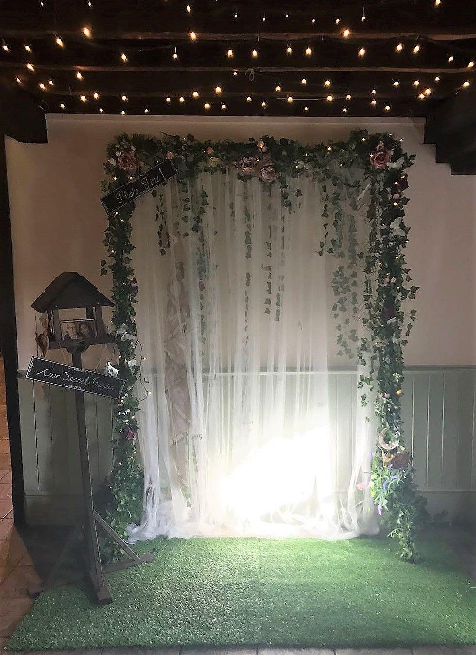Secret Garden Photobooth Yule Ball Prom Decore In 2019